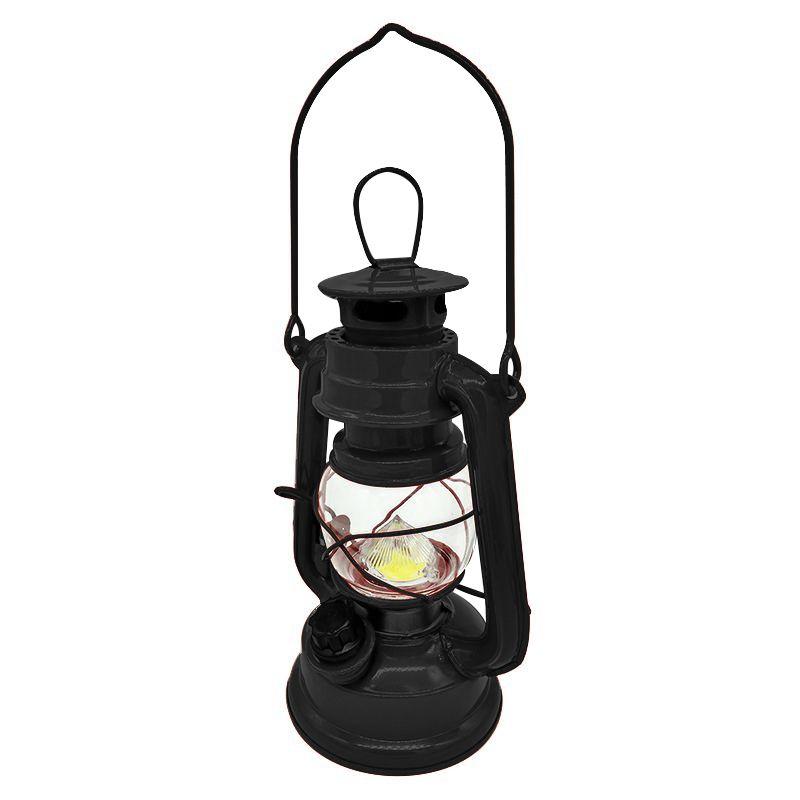 Lampião Abajur Lanterna Luz LED Vintage Retrô  - Mundo Thata