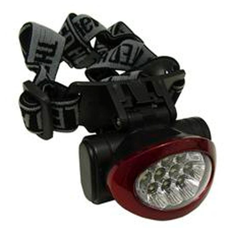 Lanterna de cabeça 10 LEDS  - Mundo Thata