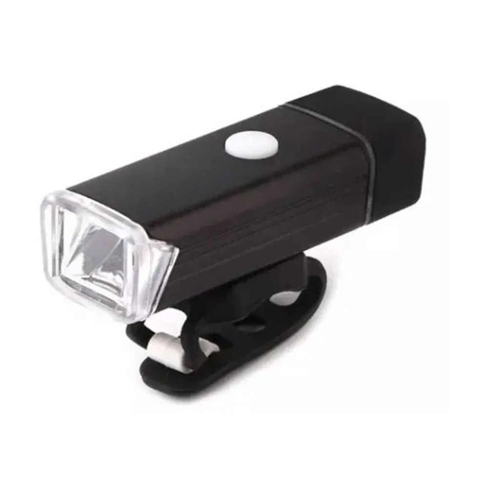 Lanterna Farol Bike Recarregável USB 180 Lumens plus  - Mundo Thata