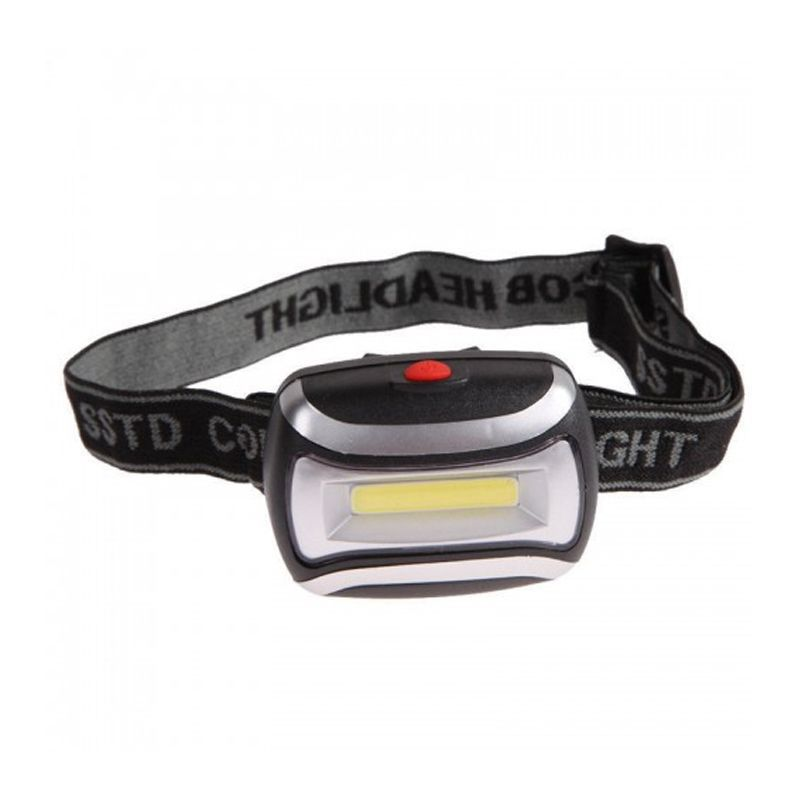 Lanterna Farol De Cabeça Capacete Super LED Branco  - Thata Esportes
