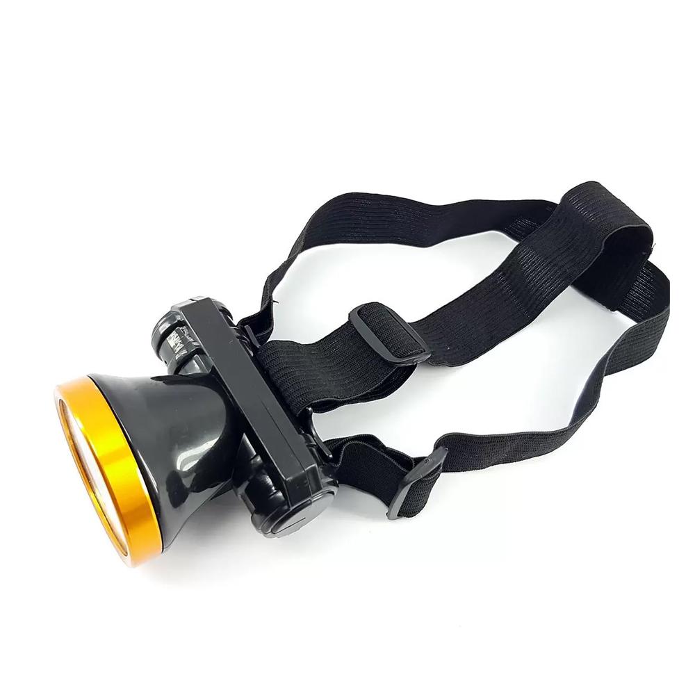 Lanterna Farol de Cabeça Ultra Brilhante Led Profissional Recarregável   - Mundo Thata