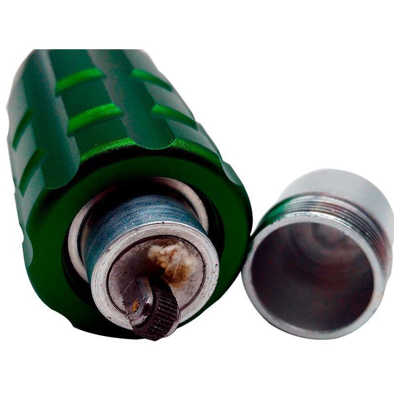 Lanterna LED Militar Coringa com Zoom e Bússola  - Thata Esportes