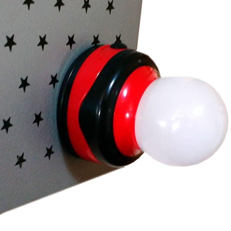 Lanterna Luminária com Imã e Suporte para Pendurar  - Thata Esportes