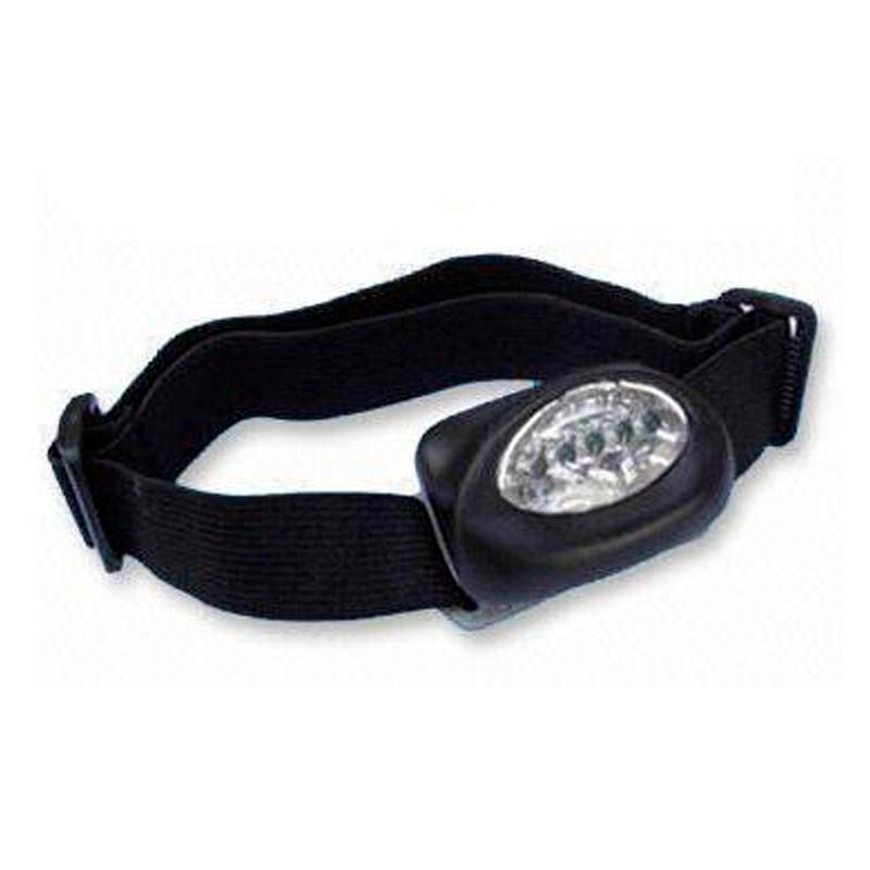 Lanterna para Cabeça com 5 LEDs  - Thata Esportes