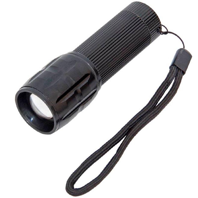 Lanterna Tática com Zoom e Strobo  - Thata Esportes