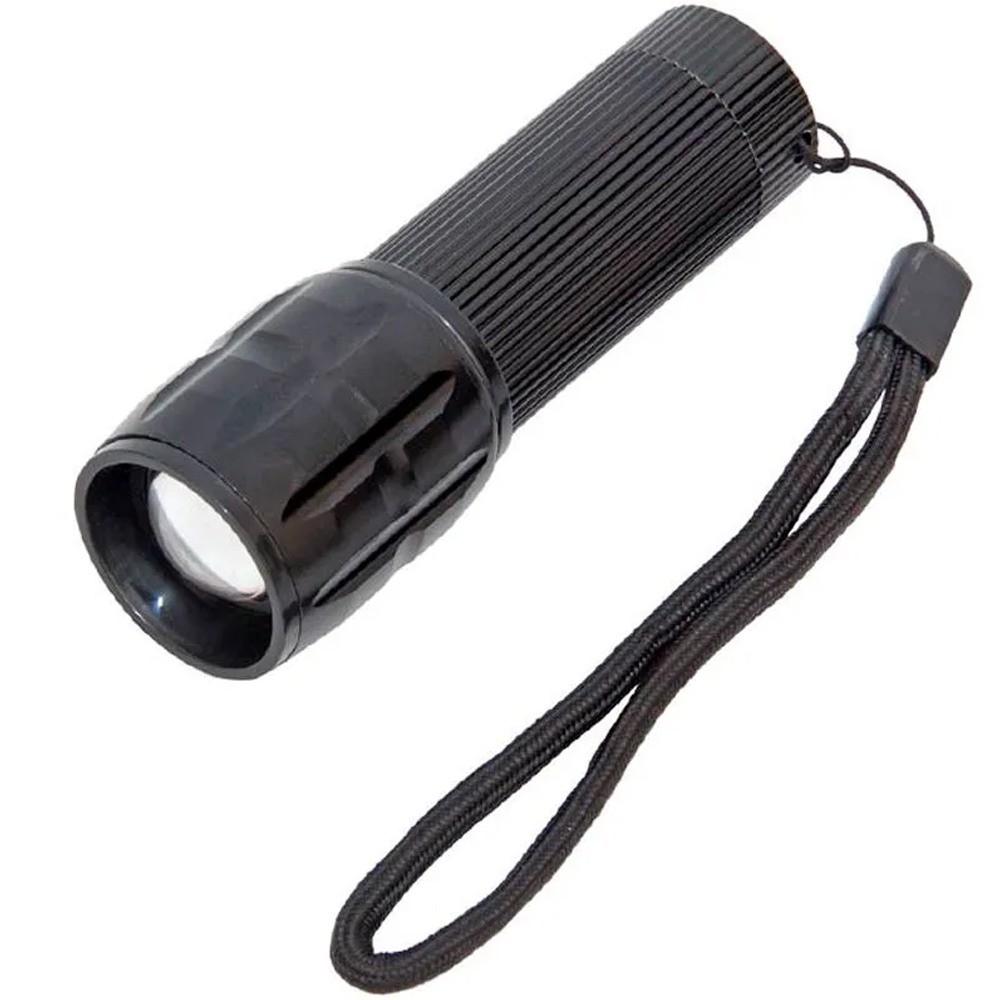 Lanterna Tática com Zoom e Strobo  - Mundo Thata