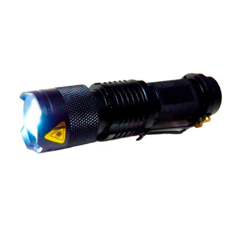 Lanterna Tática LED Cree 9.000 Watts 25.000 Lúmens  - Thata Esportes