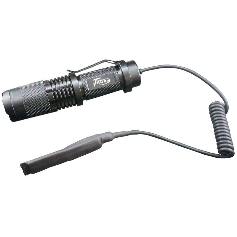 Lanterna Tática LED Cree T6 com Acionador Remoto  - Thata Esportes