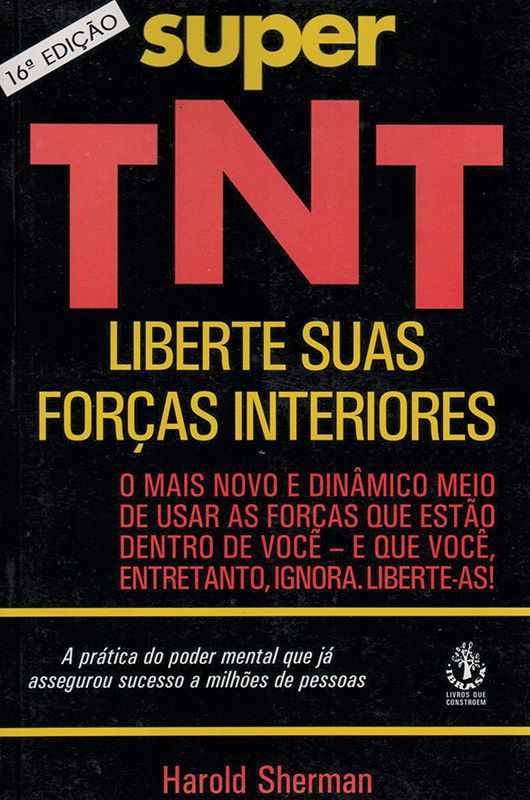 Livro Super TNT - Liberte Suas Forças interiores  - Mundo Thata