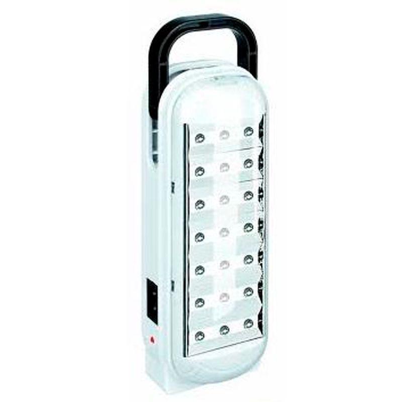 Luminária Lâmpada Lanterna Recarregável 21 LEDs  - Thata Esportes