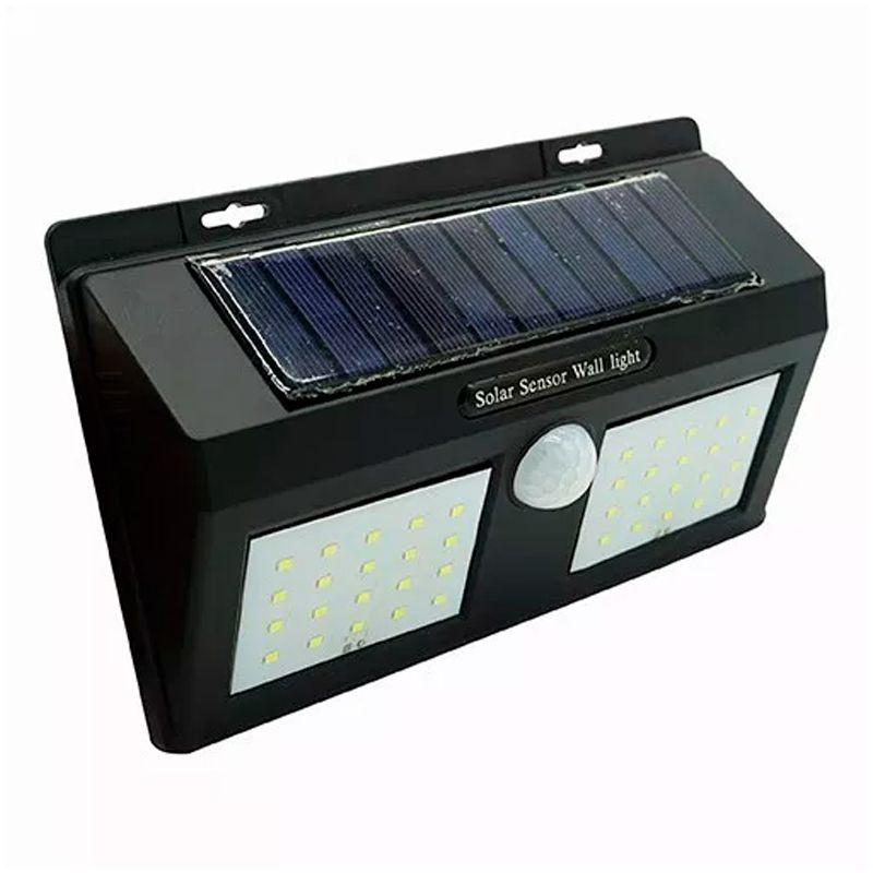Luminária Lâmpada Solar 40 LEDs com Sensor de Presença  - Mundo Thata