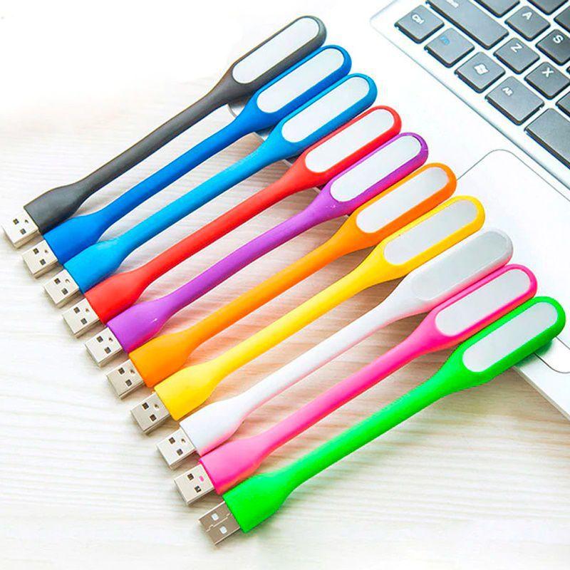 Luminária LED para Notebook Flexível  - Thata Esportes