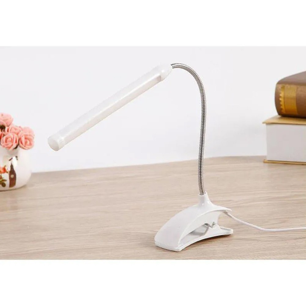 Luminária USB LED com Presilha  - Mundo Thata