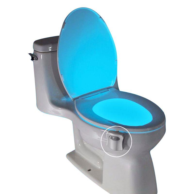 Luminária Vaso Sanitário Light Bowl Com Sensor E LED 8 Cores  - Mundo Thata