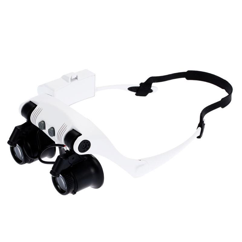 Lupa Óculos com 2 LEDs  - Thata Esportes