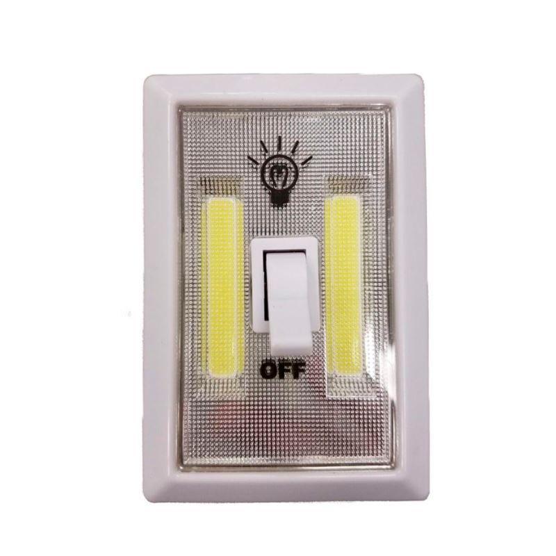 Luz de Emergência com Interruptor LED Adesivo   - Thata Esportes