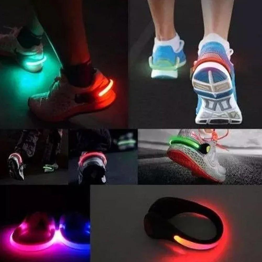 Luz Segurança Sinalizador de Tênis para Exercícios Noturnos  - Mundo Thata