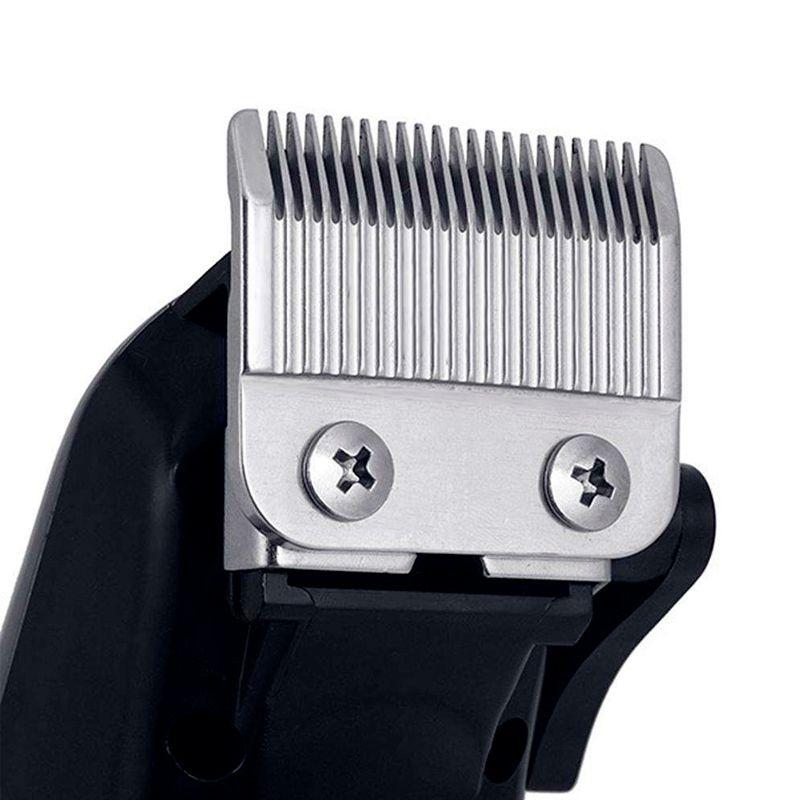 Máquina de Cortar Cabelo Barba Profissional Kemei Sem Fio Recarregável Bivolt KM-119  - Mundo Thata
