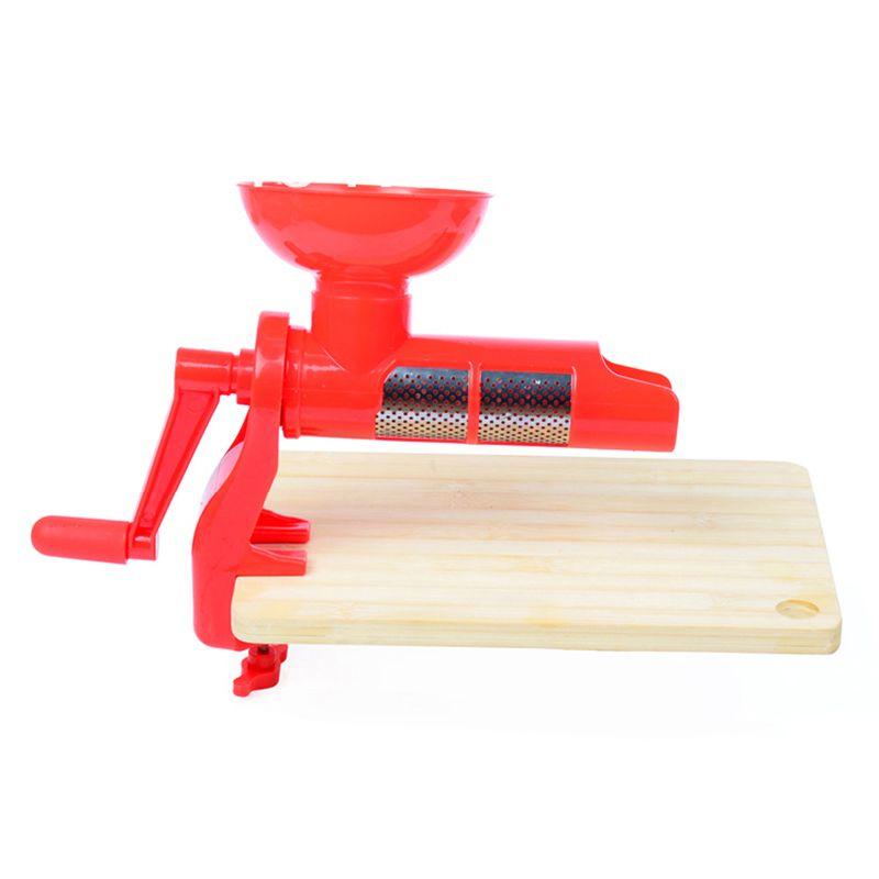 Máquina Extrator de Tomate Pêssego Frutas Moles Extrato Polpa  - Mundo Thata