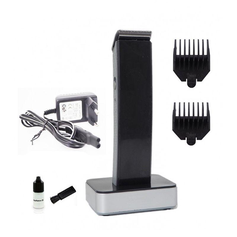 Máquina Recarregável Cortar Aparar Cabelo Barba  - Thata Esportes