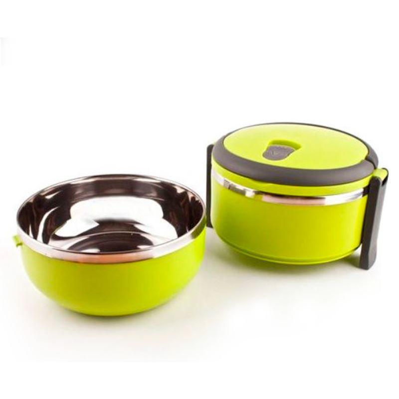 Marmita Lancheira Térmica Lunch Box Hermético 1 Compartimento  - Thata Esportes