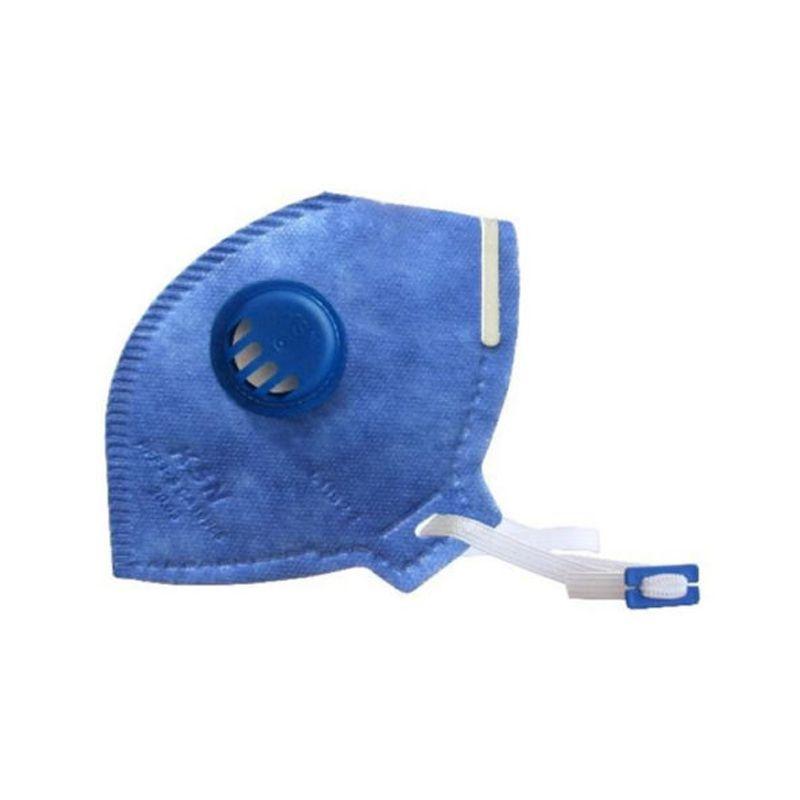 Máscara Descartável Dobrável com Válvula Respirador Várias Camadas Inmetro KSN  - Mundo Thata
