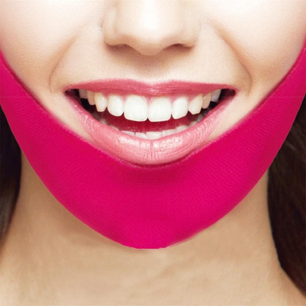 Máscara Elimina Papada Define Contorno Facial V-Line  - Mundo Thata