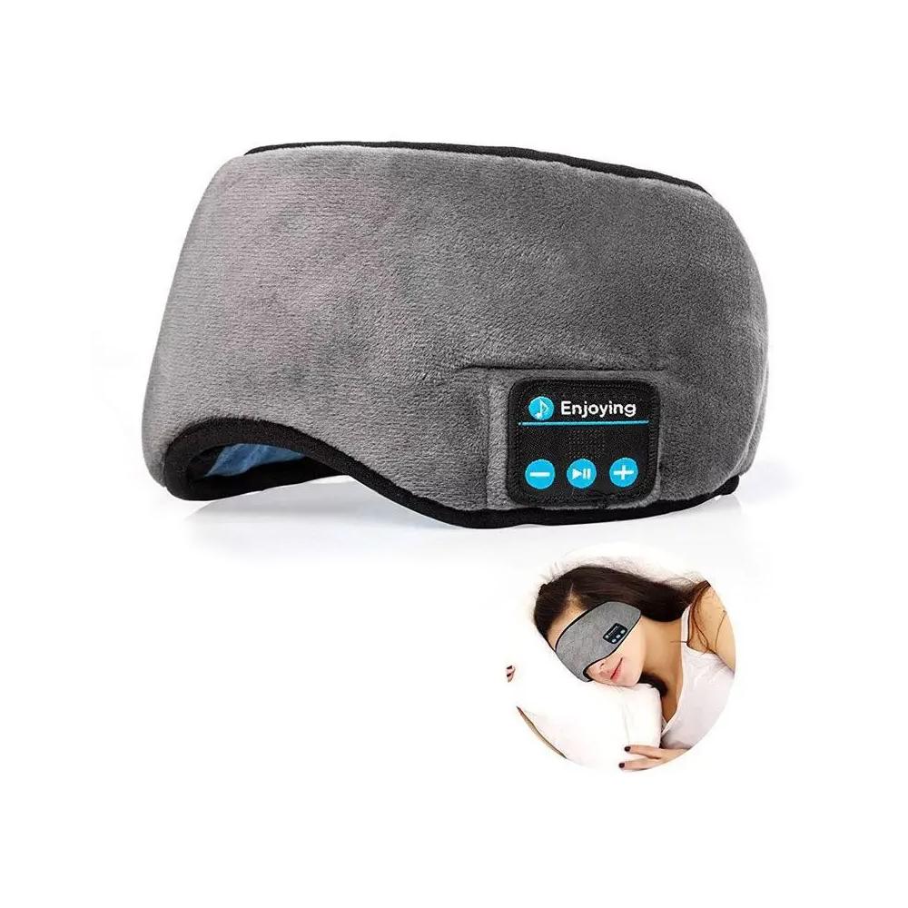 Máscara Tapa Olho de Dormir Com Fone de Ouvido Bluetooth Embutido USB  - Mundo Thata