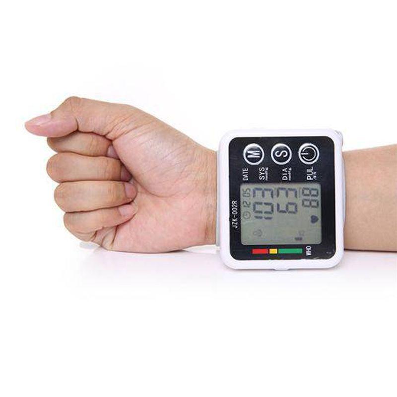 Medidor Eletrônico De Pulso Pressão Arterial Automático Display  - Thata Esportes