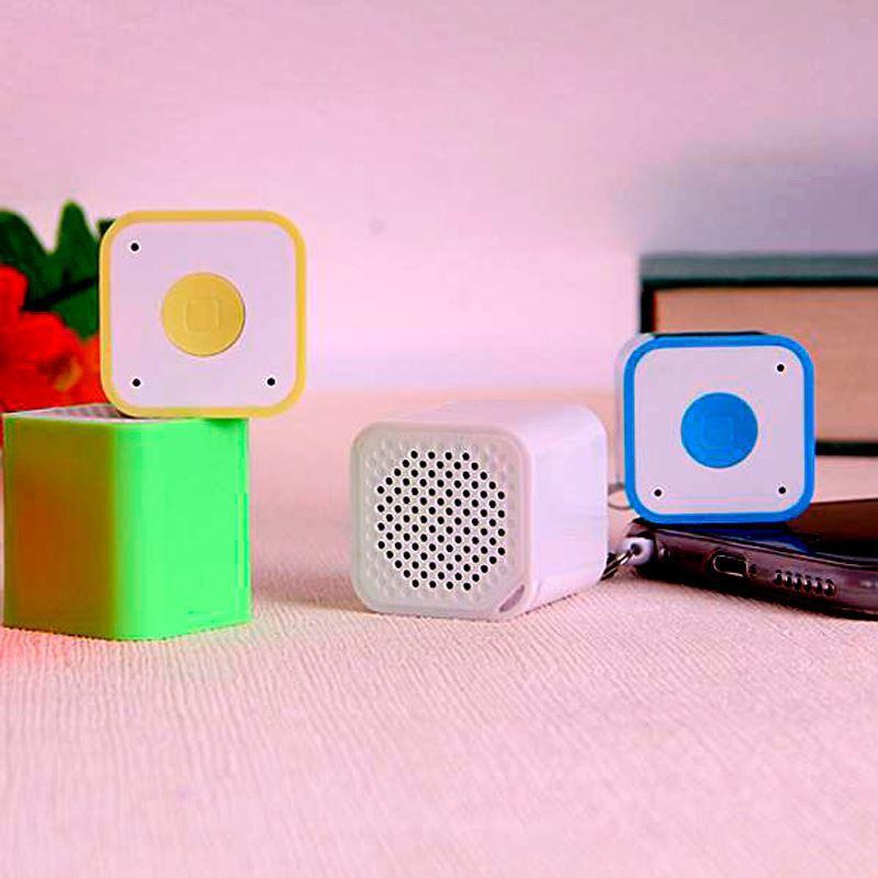 Mini Caixa de Som Cubo Bluetooth  - Thata Esportes