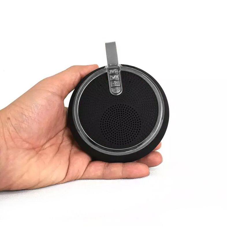 Mini Caixa de Som Portátil USB Bluetooth SD Entrada P2 Cordão  - Thata Esportes