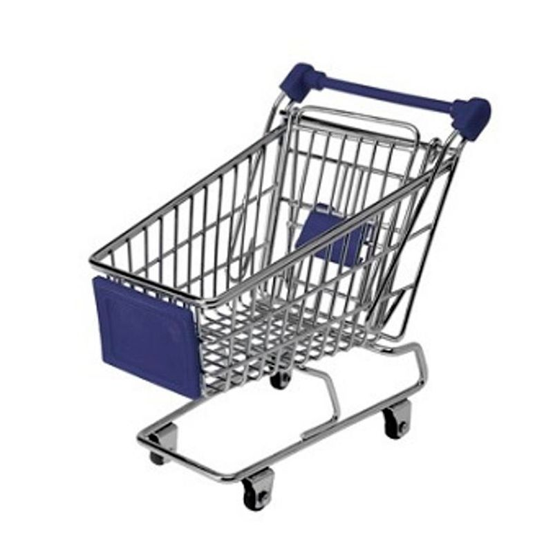 Mini Carrinho Supermercado Miniatura  - Thata Esportes