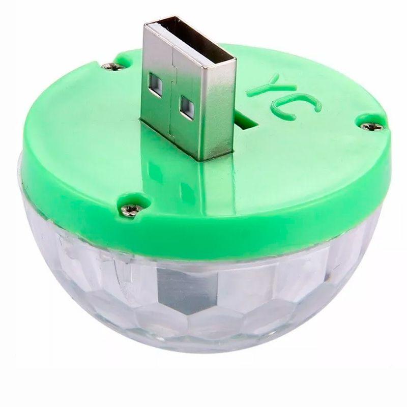 Mini Lâmpada Magic Ball LED RGB Globo Balada no Celular  - Thata Esportes