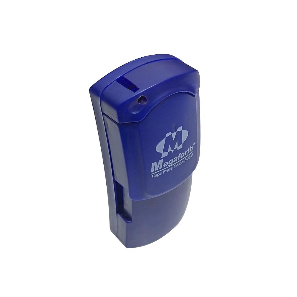 Mini lanterna Delta LED Chaveiro Azul  - Mundo Thata