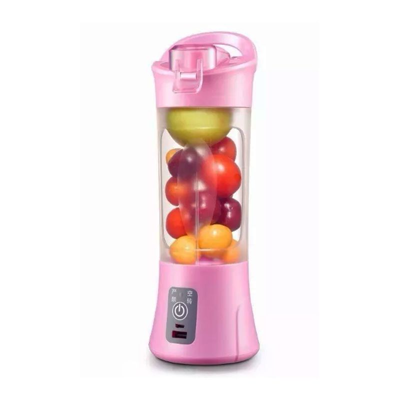 Mini Liquidificador Copo Mixer Elétrico Batedor Shake Frutas Sucos  - Thata Esportes