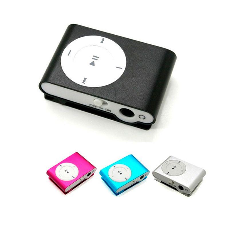 Mini MP3 Shuffle Player Radio AM/FM Cartão microSD  - Thata Esportes