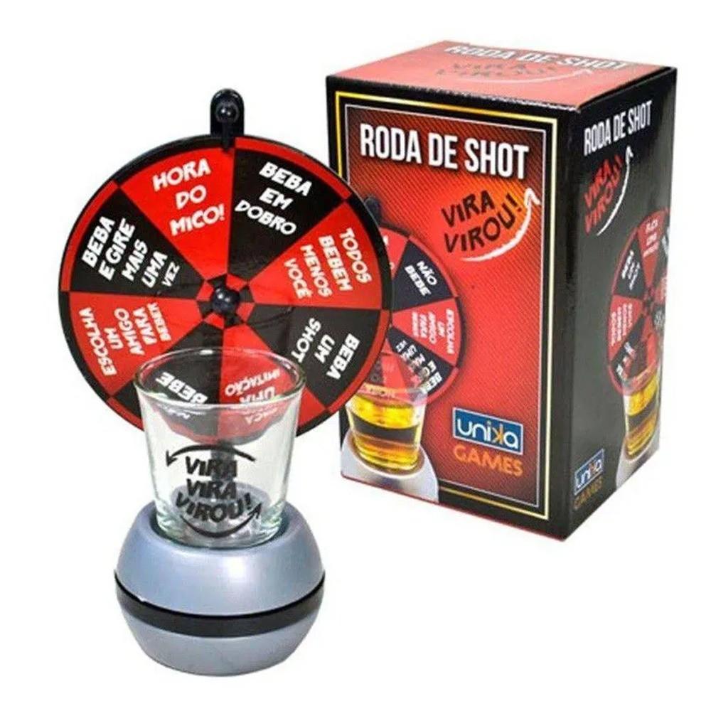 Mini Roda Drink Shot Vira Vira  - Mundo Thata