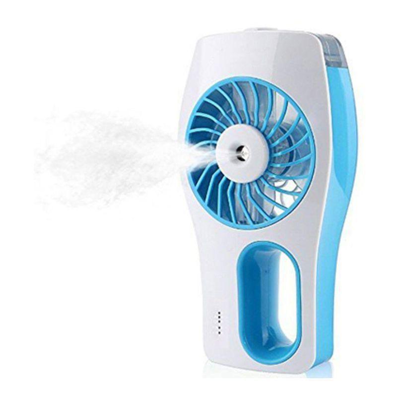 Mini Ventilador Climatizador Umidificador Com Bateria Recarregável USB  - Thata Esportes