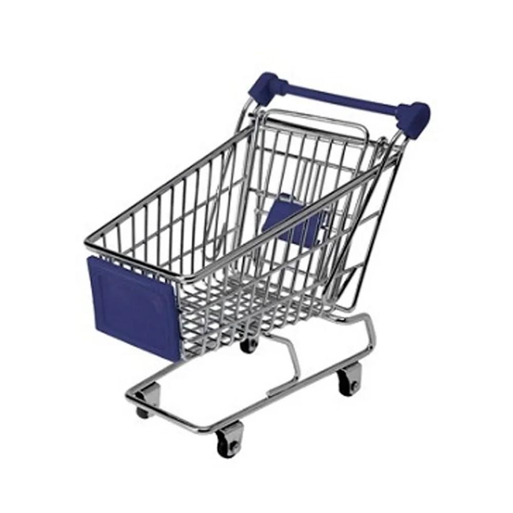 Miniatura Carrinho Supermercado  - Mundo Thata