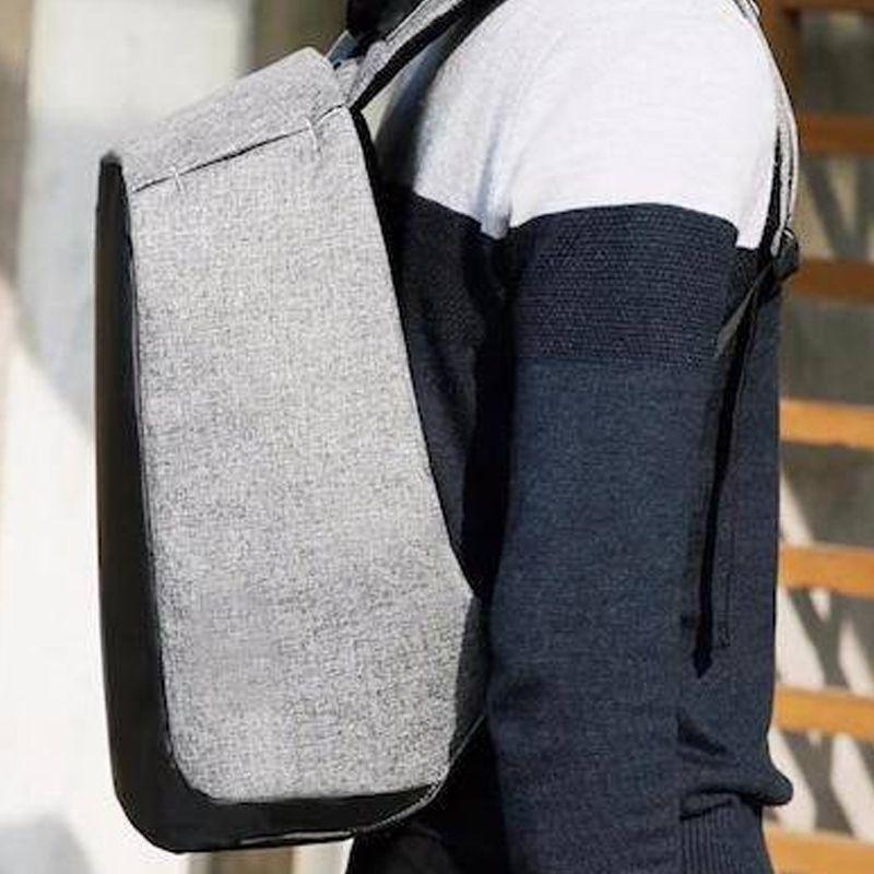 Mochila Anti-furto Compartimento Para Notebook Laptop Saída USB Carregamento De Dispositivos  - Thata Esportes