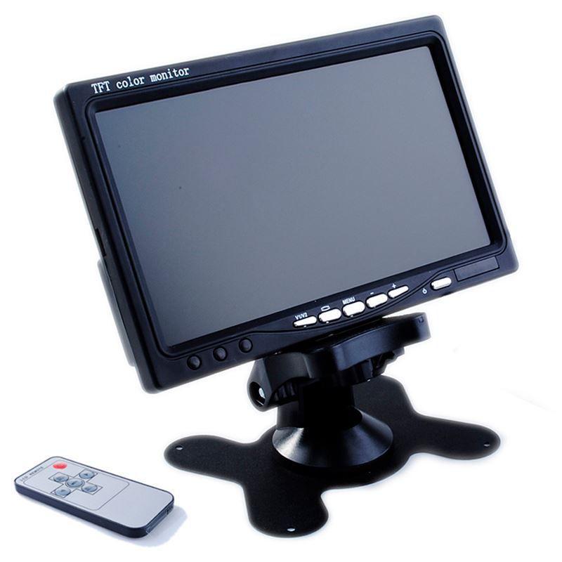 Monitor LCD 7 Polegadas Colorido  - Thata Esportes