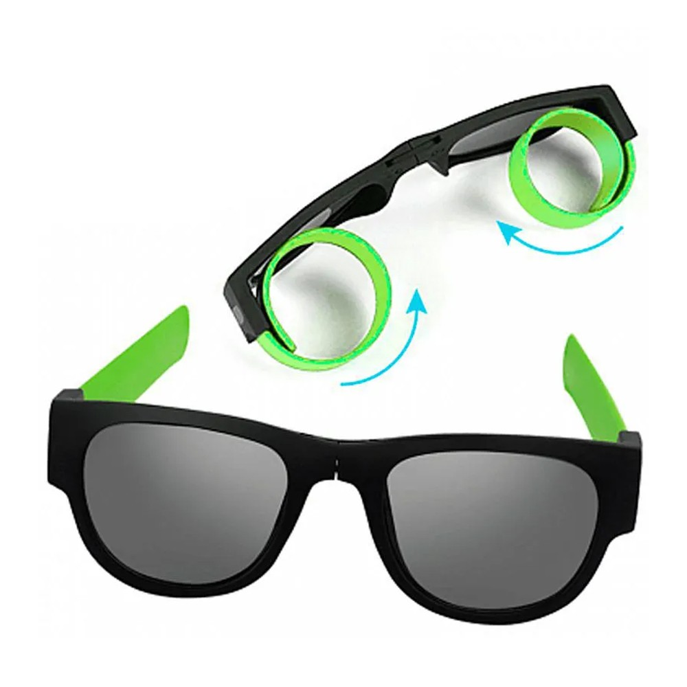 Óculos de Sol Anti Quedas Dobrável Silicone  - Mundo Thata