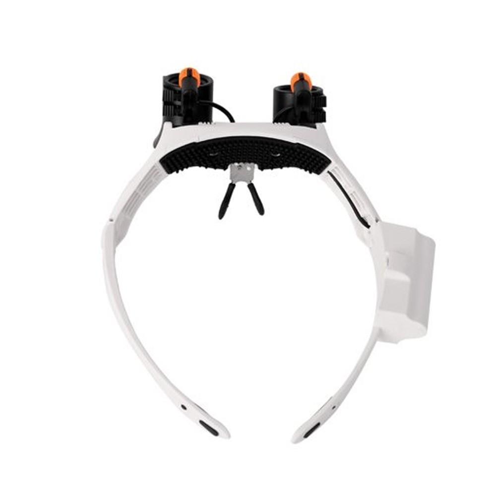 Óculos Lupa de Cabeça Profissional 7 Lentes  - Mundo Thata