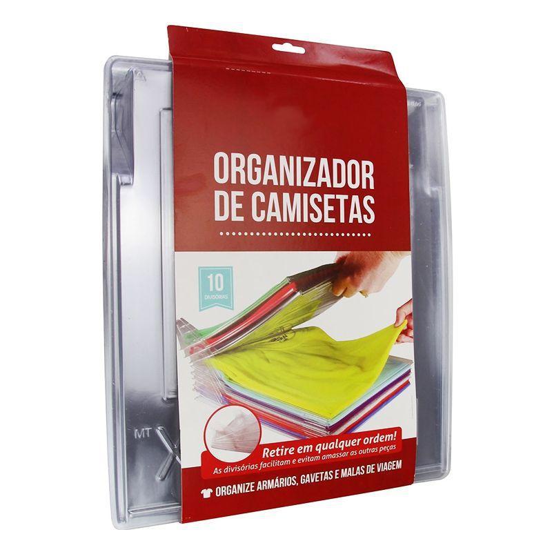 Organizador Roupas Camisas e Camisetas Tipo Arquivo  - Thata Esportes