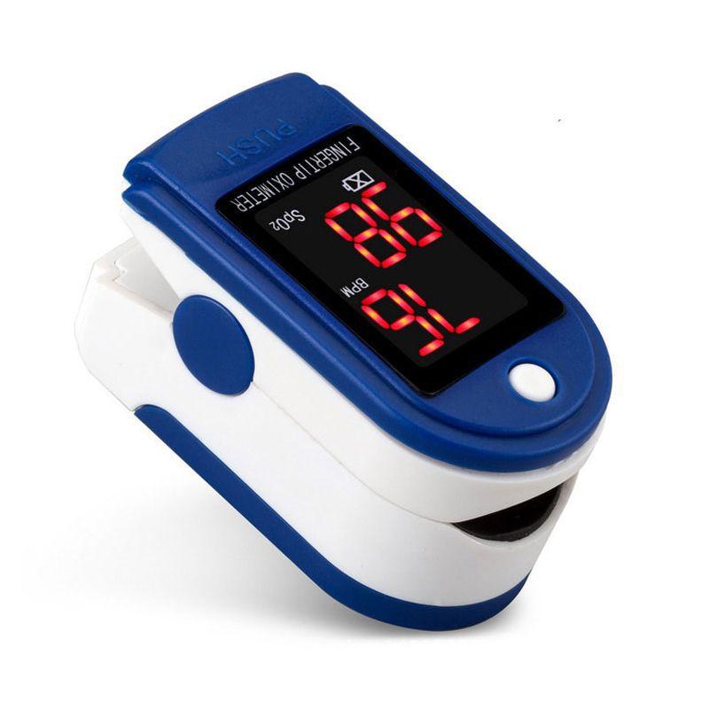 Oxímetro Digital Medidor de Saturação de Oxigênio no Sangue  - Mundo Thata