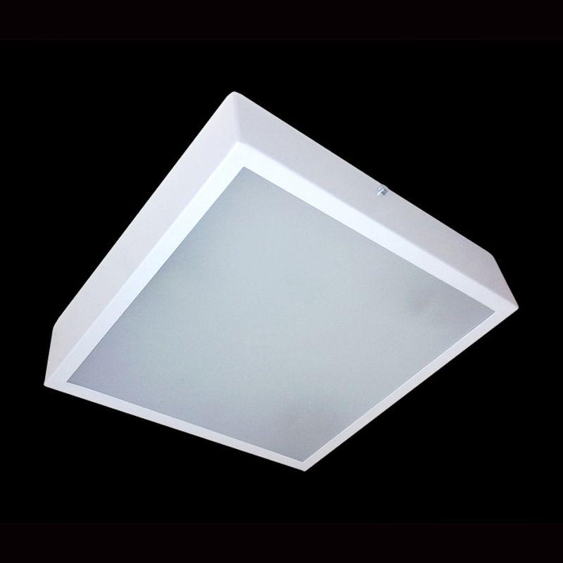 Painel Plafon Quadrado Luminária Sobrepor LED 24 W Bivolt  - Thata Esportes