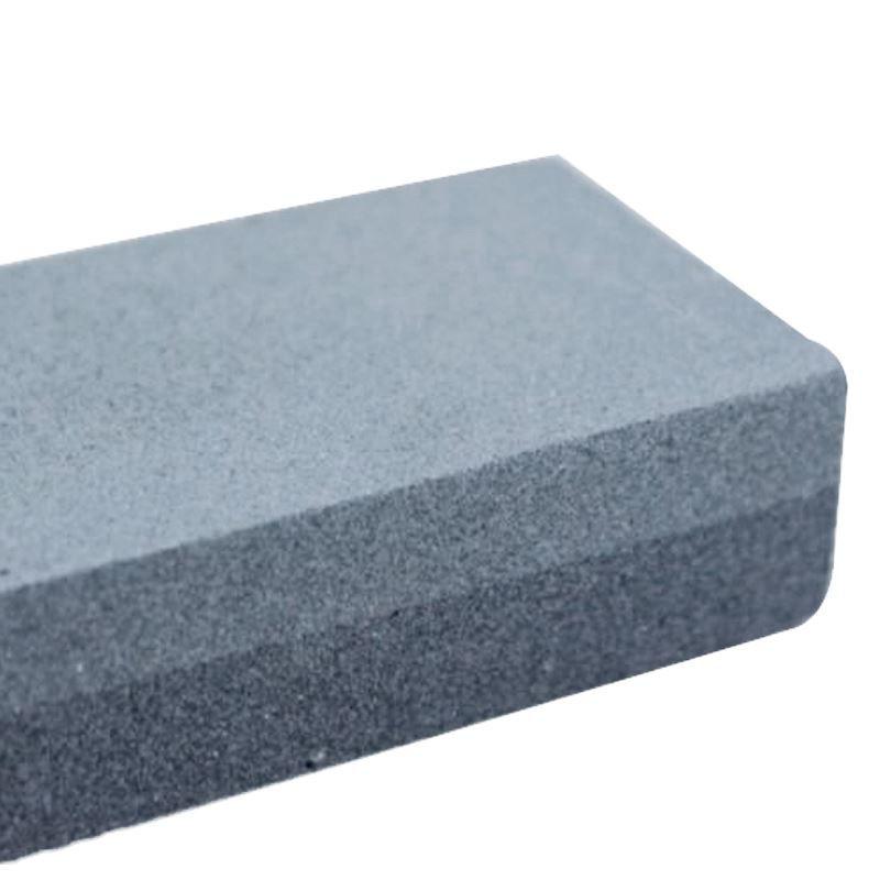 "Pedra para Afiar Faca Retangular 2 Faces 200mm/8""  - Thata Esportes"