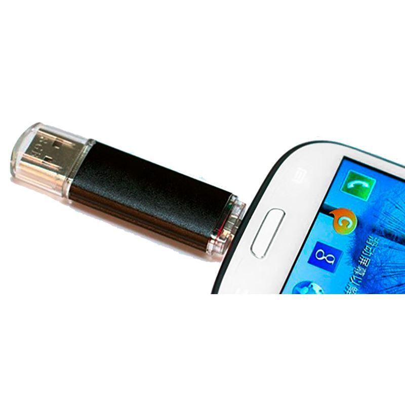 Pendrive com Dupla Entrada USB para Celular Tablet Computador 15 GB  - Thata Esportes