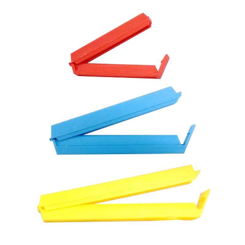 Prendedor Plástico para Embalagem Fecha Tudo  Kit com 8 Unidades  - Mundo Thata