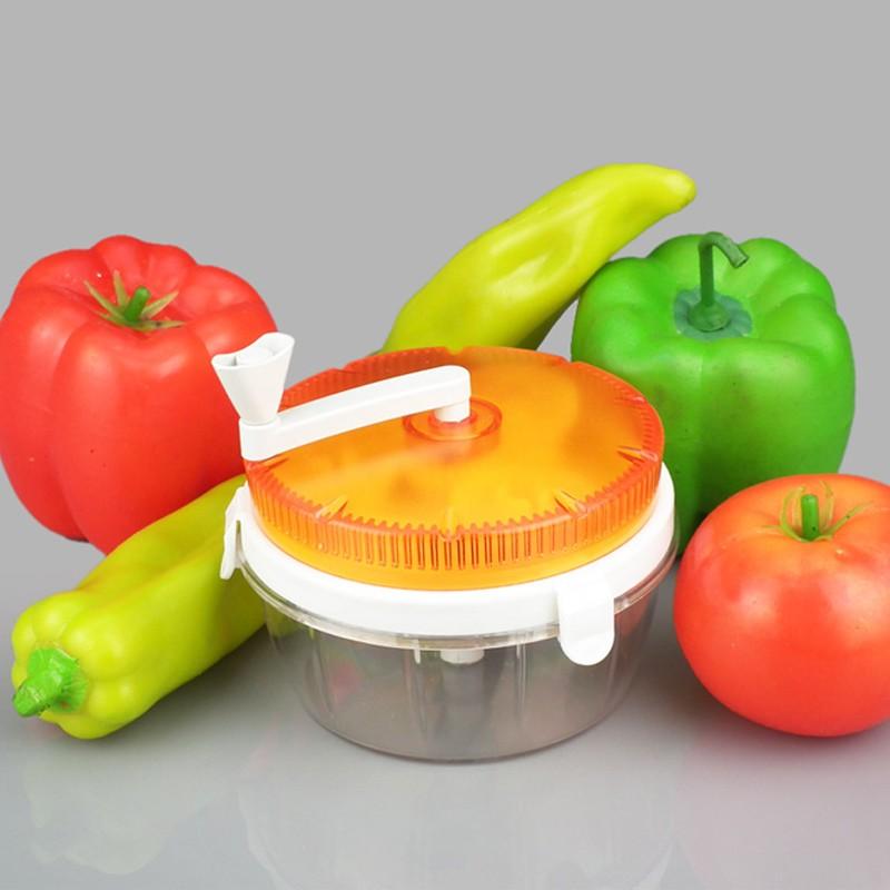 Processador Triturador Manual de Alimentos Frutas Legumes  - Thata Esportes
